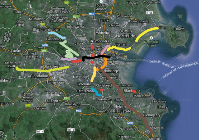 dublin cycle study tour first draft