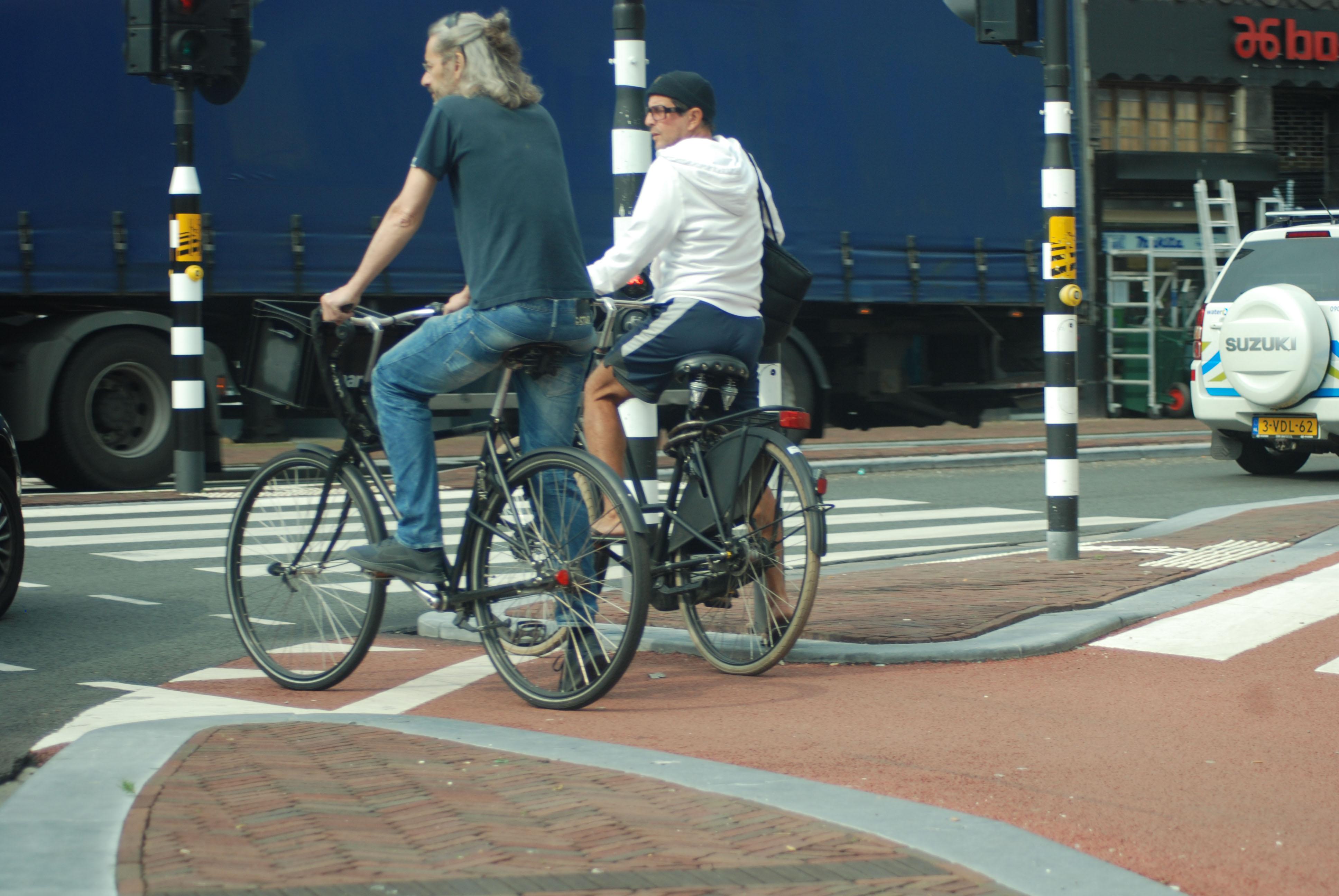 Dutch cycle path