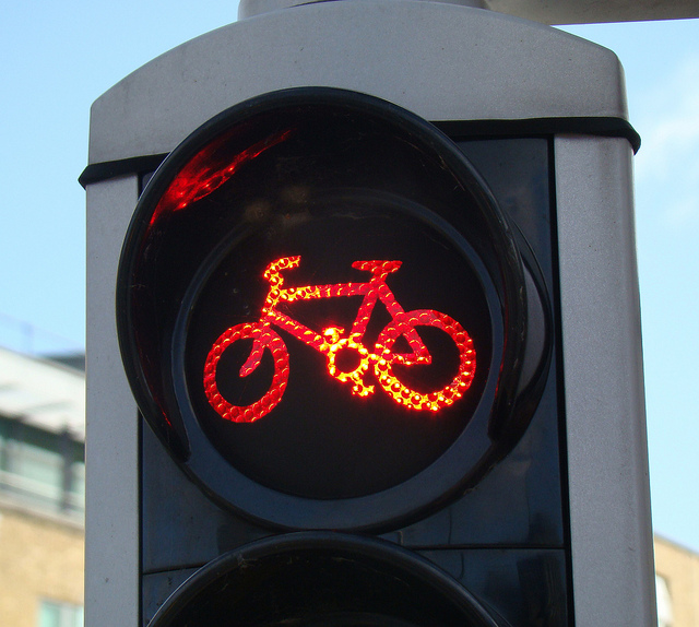 Red light bicycle