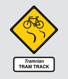 Slippery Tram Track warning-01