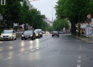 IMAGE: Dublin it's planning radical 30km/h zones as can be found in cities like Berlin (pictured).