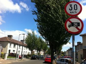 IMAGE: With very few exceptions, residential street like this one will be the typical areas covered by 30km/h.
