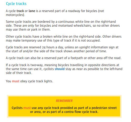 Cycle Track 2015
