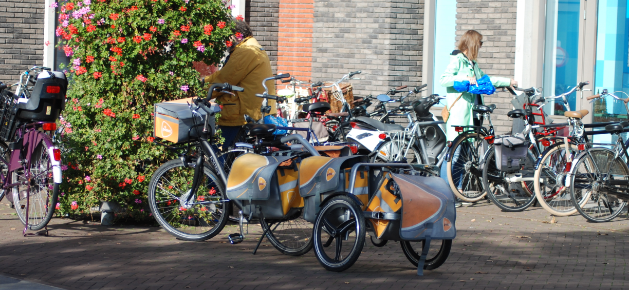 Dutch post bicycle a