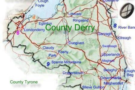 map londonderry » Free Wallpaper for MAPS | Full Maps