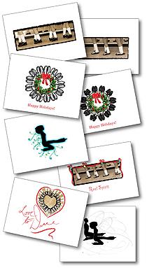 Irish & Celtic Notecards www.CustomSilhouettes.com ©Sharman Armstrong