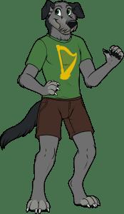 Bran IrishFurries Anthro Mascot