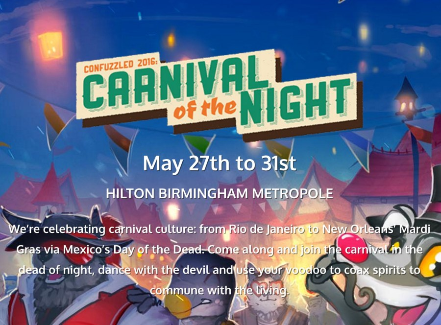 Confuzzled 2016 - Carnival Of The Night