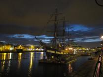 The Jeanie Johnston, a replica famine ship - which cost the Irishtaxpayer millions (according to my guide)
