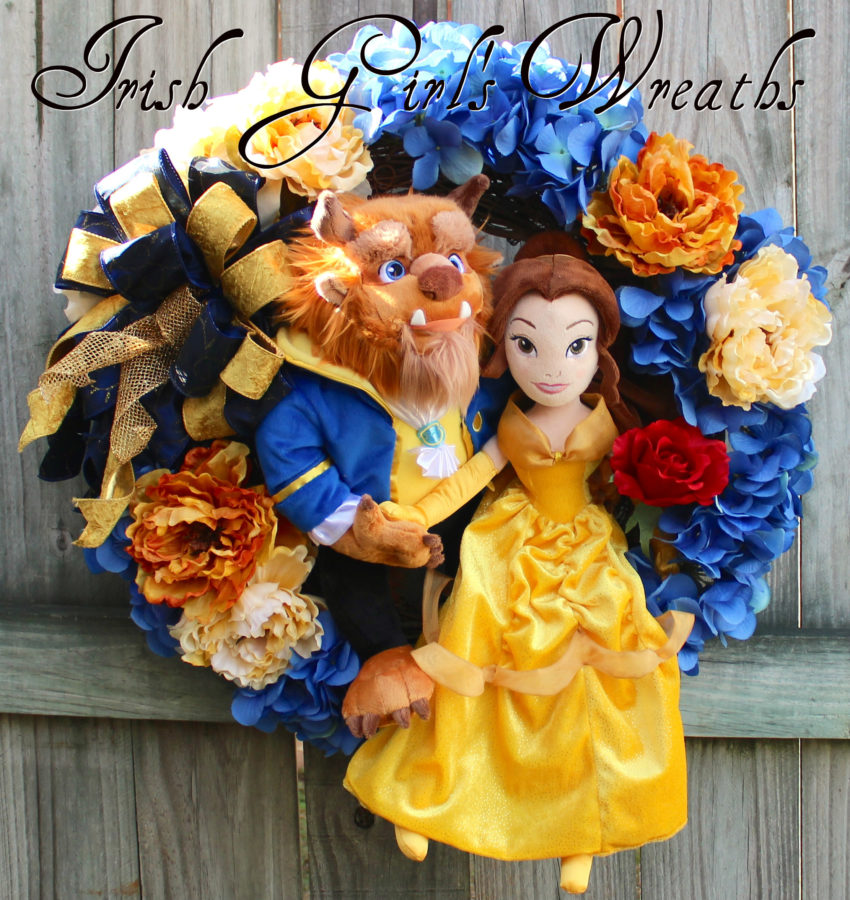 Deluxe Beauty & the Beast Wreath