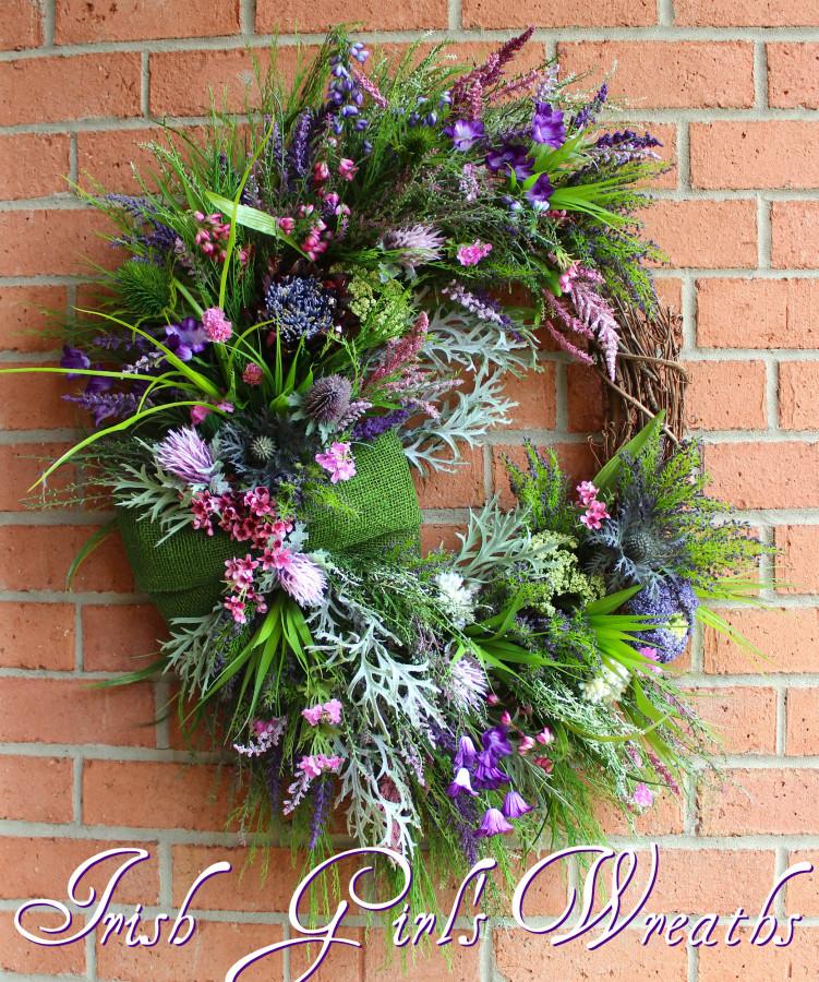 Scotland Coastal Heather Wreath