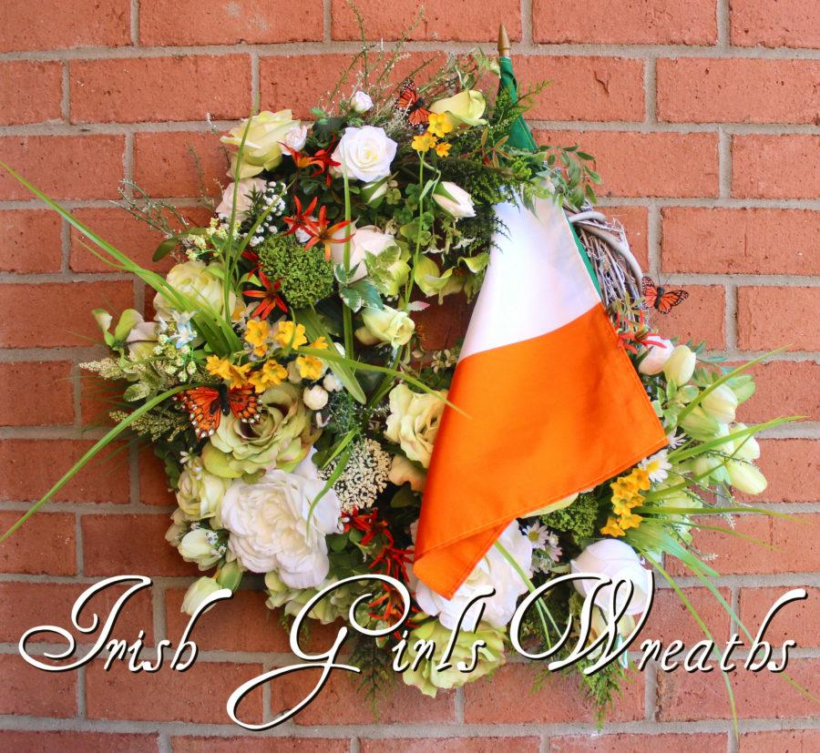 Irish Cottage Garden Wreath
