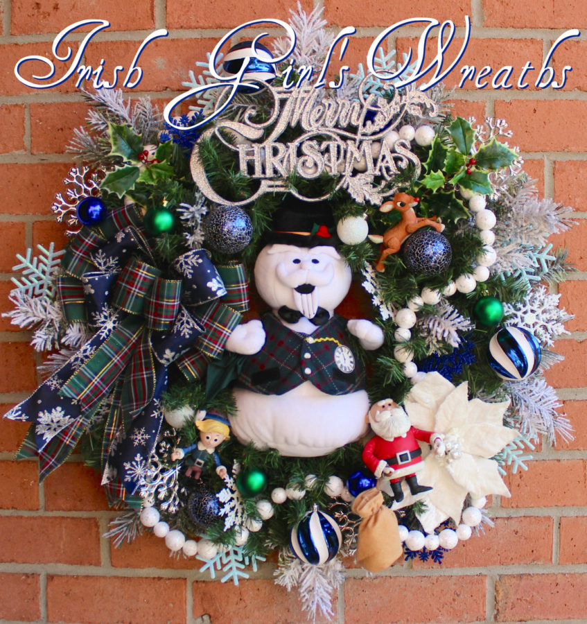 sam-the-snowman-rudolph-christmas-wreath