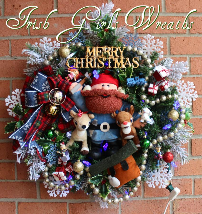 Yukon Rudolph Misfit Toys Christmas Wreath