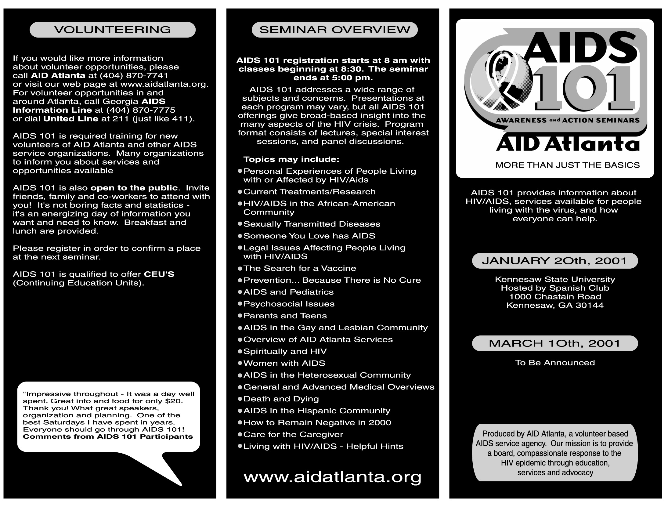 PUBLICATION: Aid Atlanta