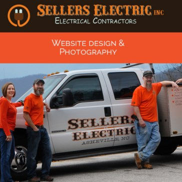 Sellers Electric Website Design