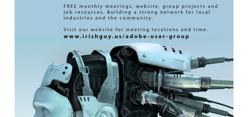 POSTER DESIGN: Adobe User Group