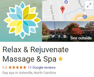 Google My Business Asheville Spa