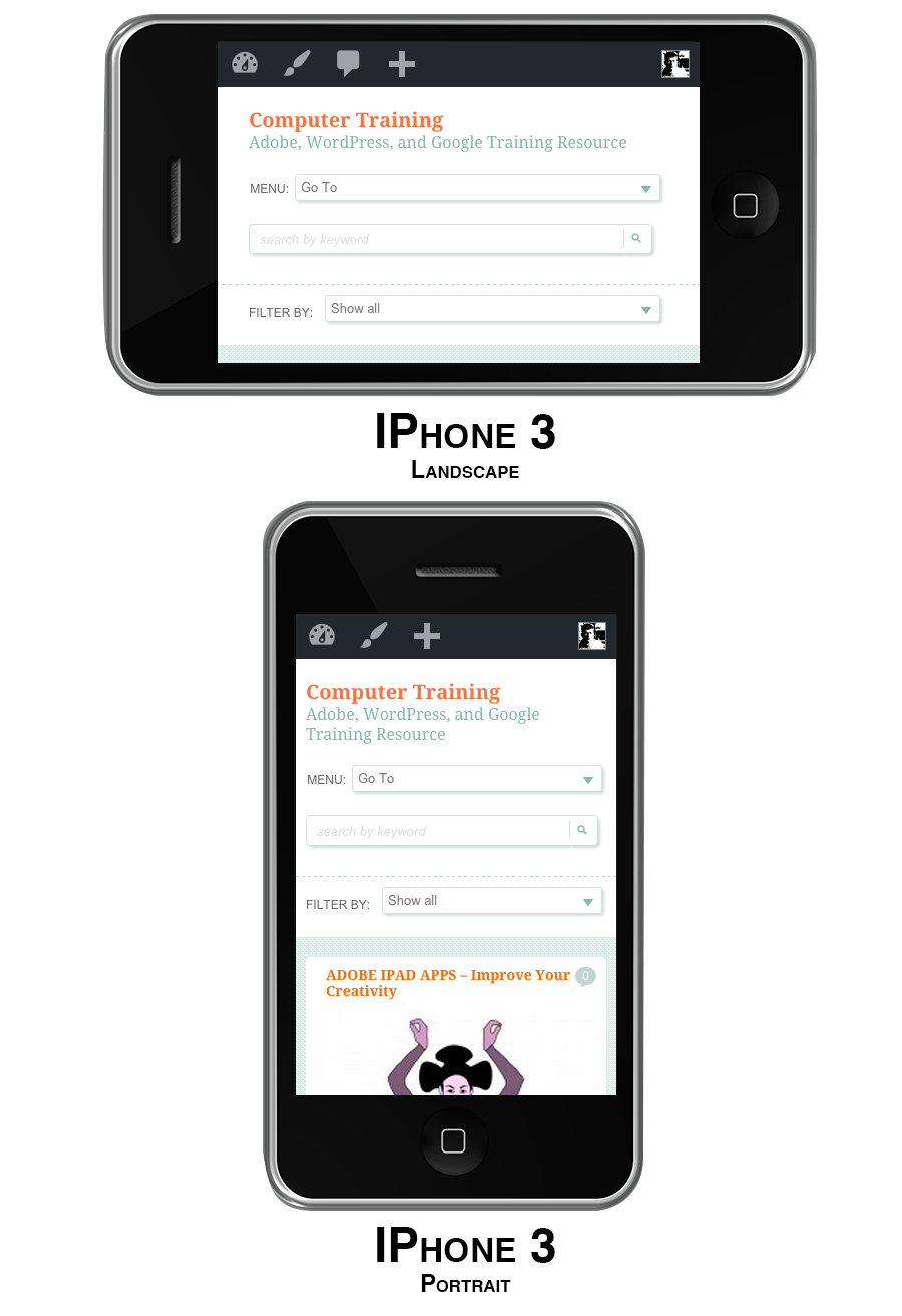 Website Design for Smartphone Users