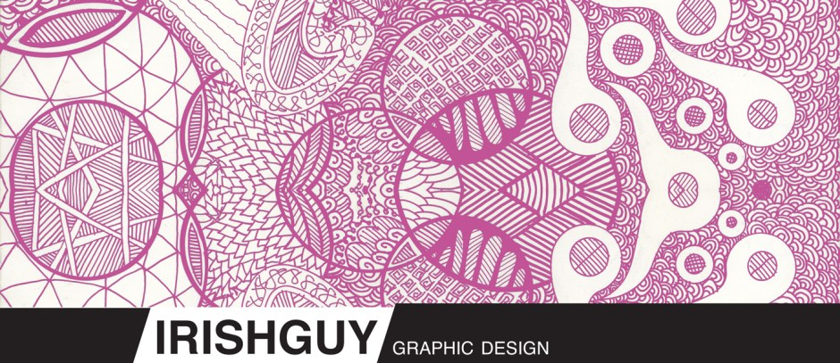 Graphic Design with Doodle Art IrishGuy Grpahic Design