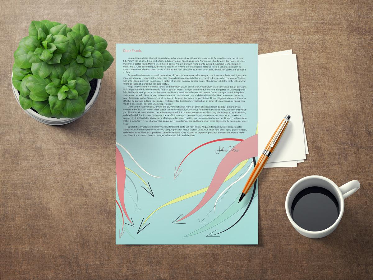 GRAPHIC DESIGN: Letterhead & Poster
