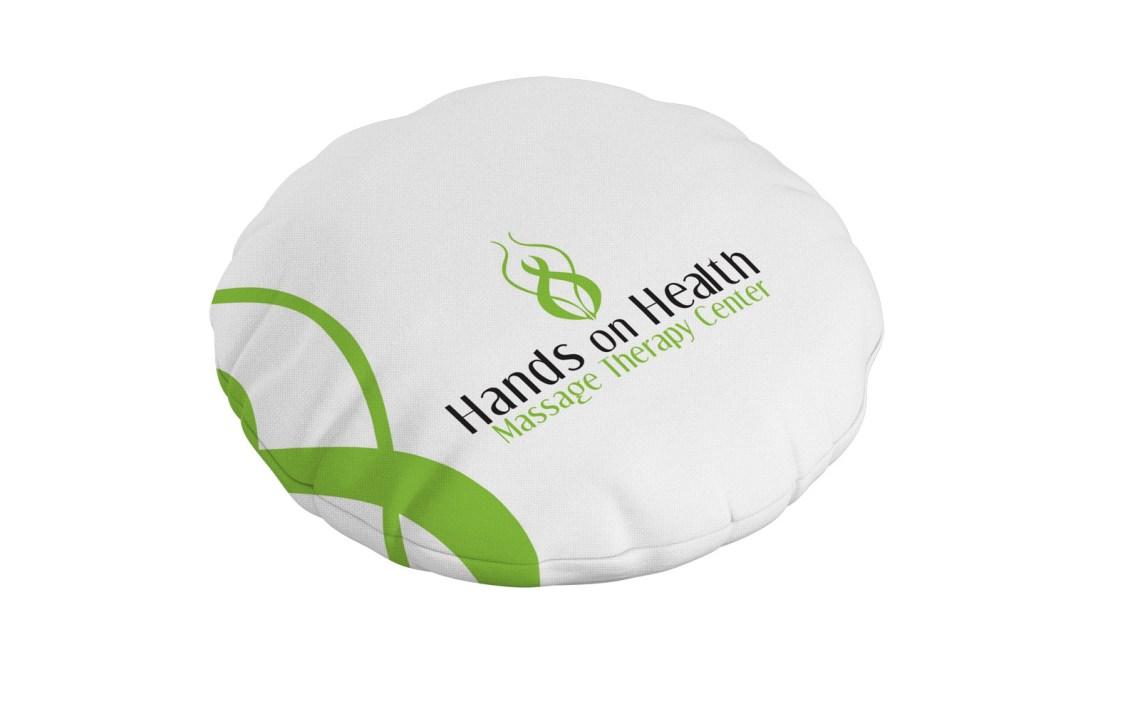 Asheville Logo Design Pillow