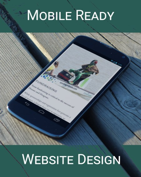 Mobile Ready Website Design by Irish Guy Design Studio