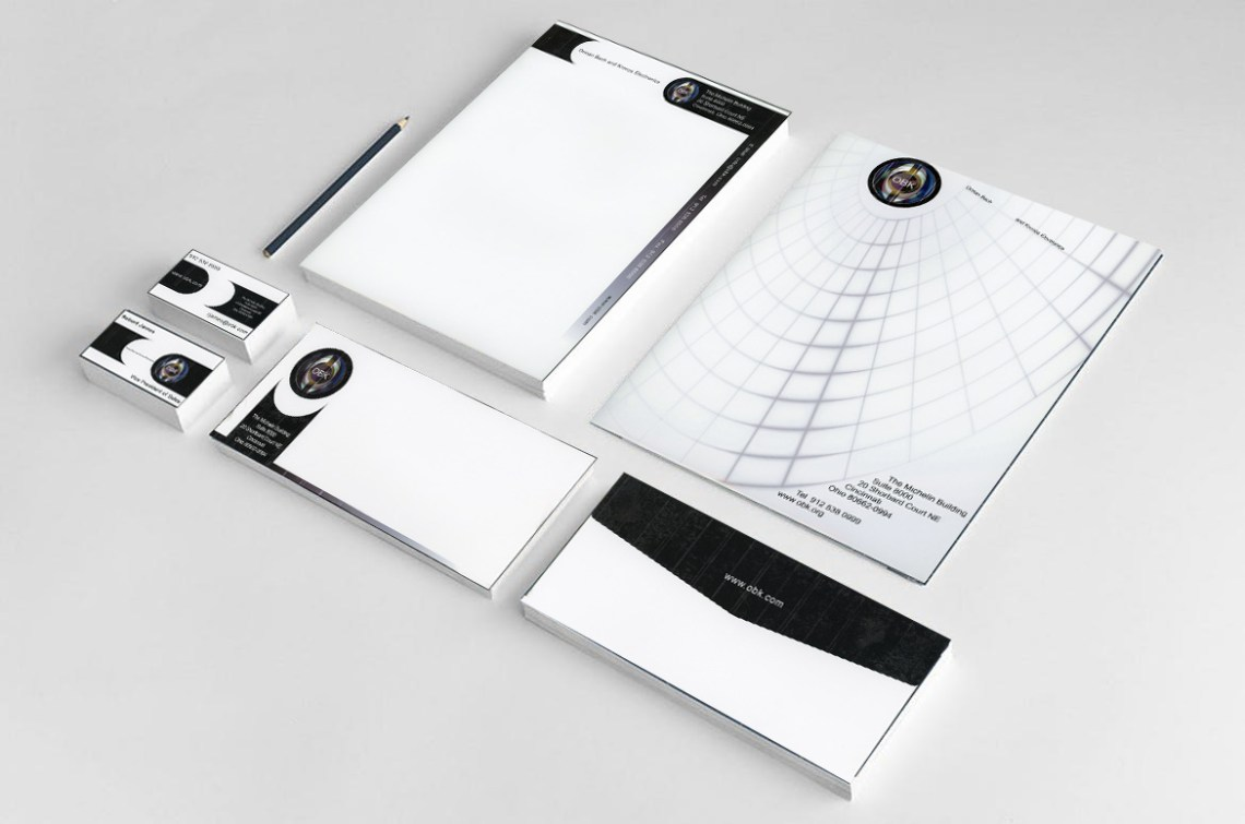 Stationery Corporate Identity Design by IrishGuy Design Studio