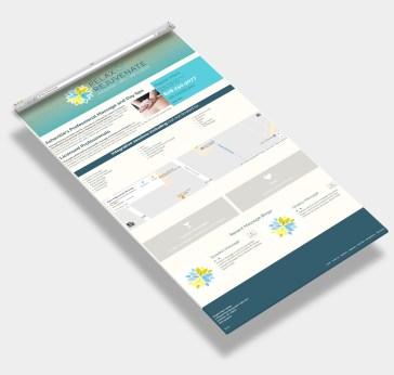Web Design Sample - Asheville Spa