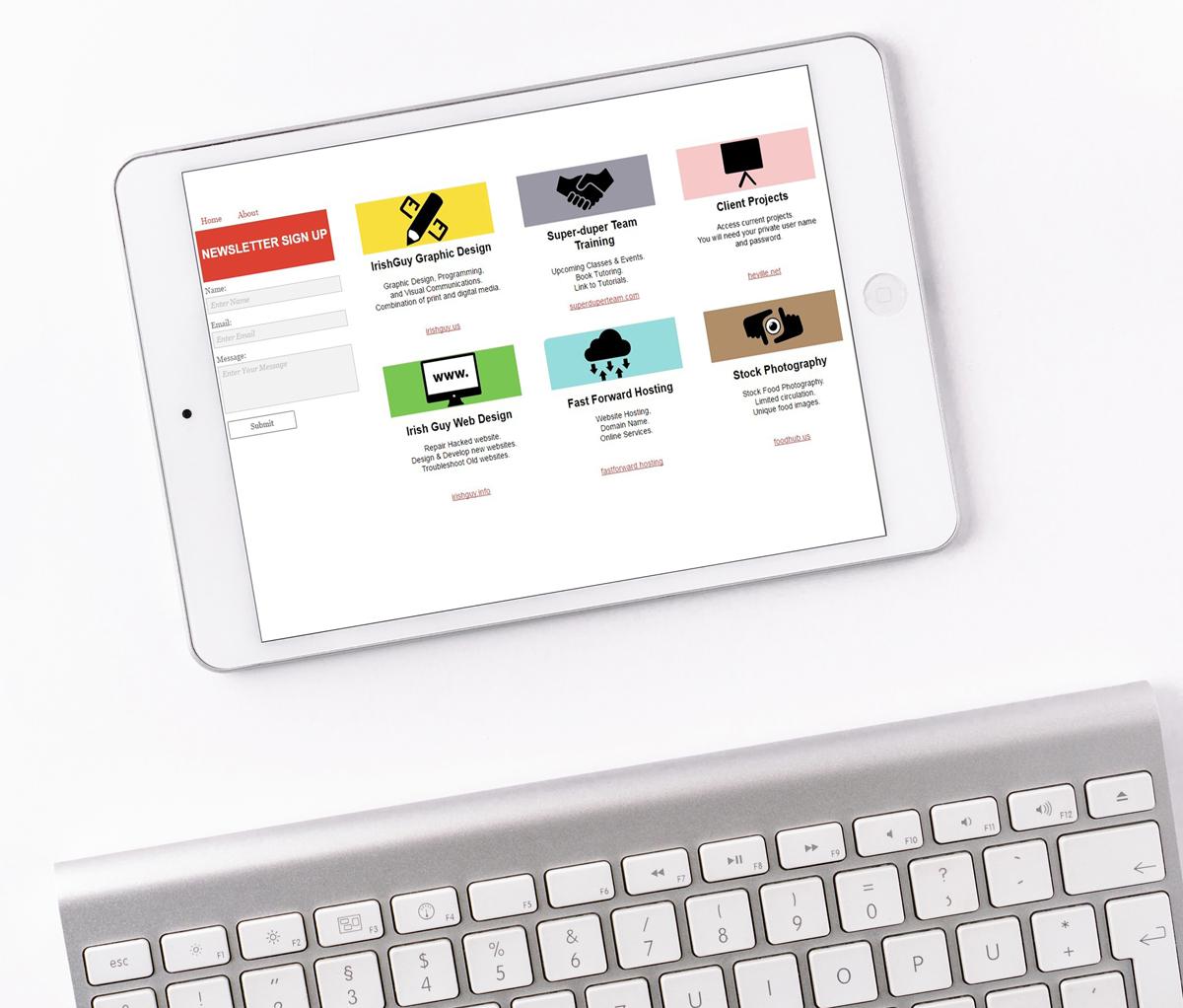 WEB DESIGN Portal Website