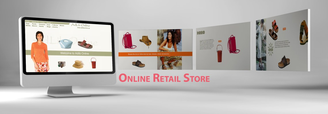 Web Design Sample Asheville Online Retail Store