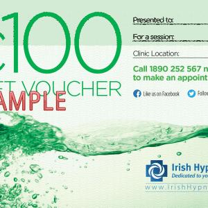 100 Gift Vouchers A6