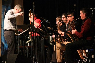 UI Lionel Hampton School of Music Jazz Band 1 directed by Vern Sielert