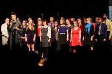 Dee Daniels with the UI Chamber Jazz Choir