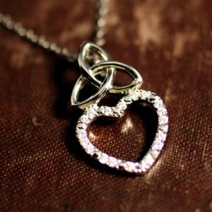 Diamond Trinity Heart