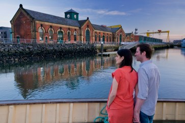Titanic. Built in Belfast