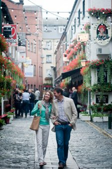 The Cathedral Quarter in Belfast, Northern Ireland