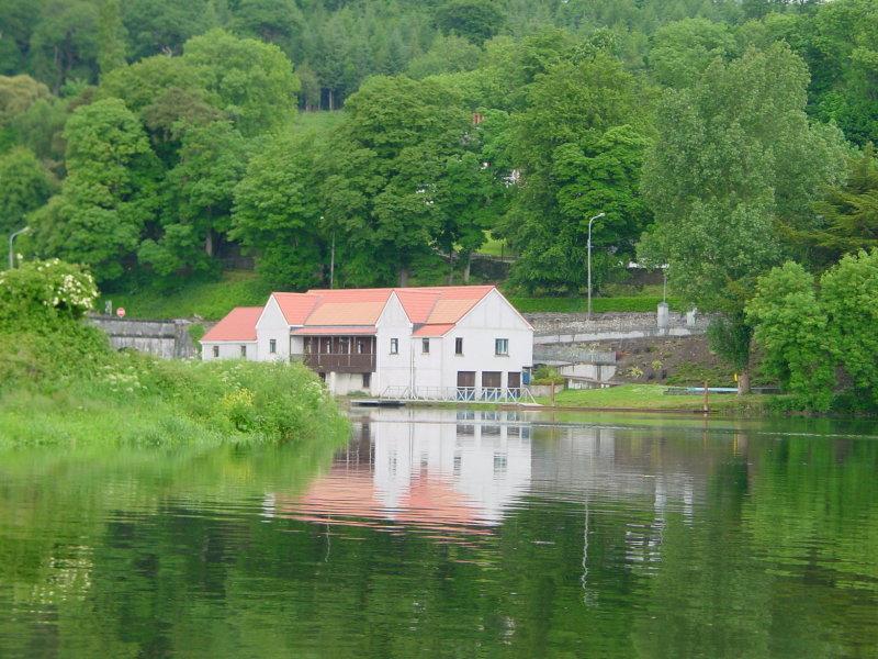 Cappoquin Rowing Club, below the road bridge