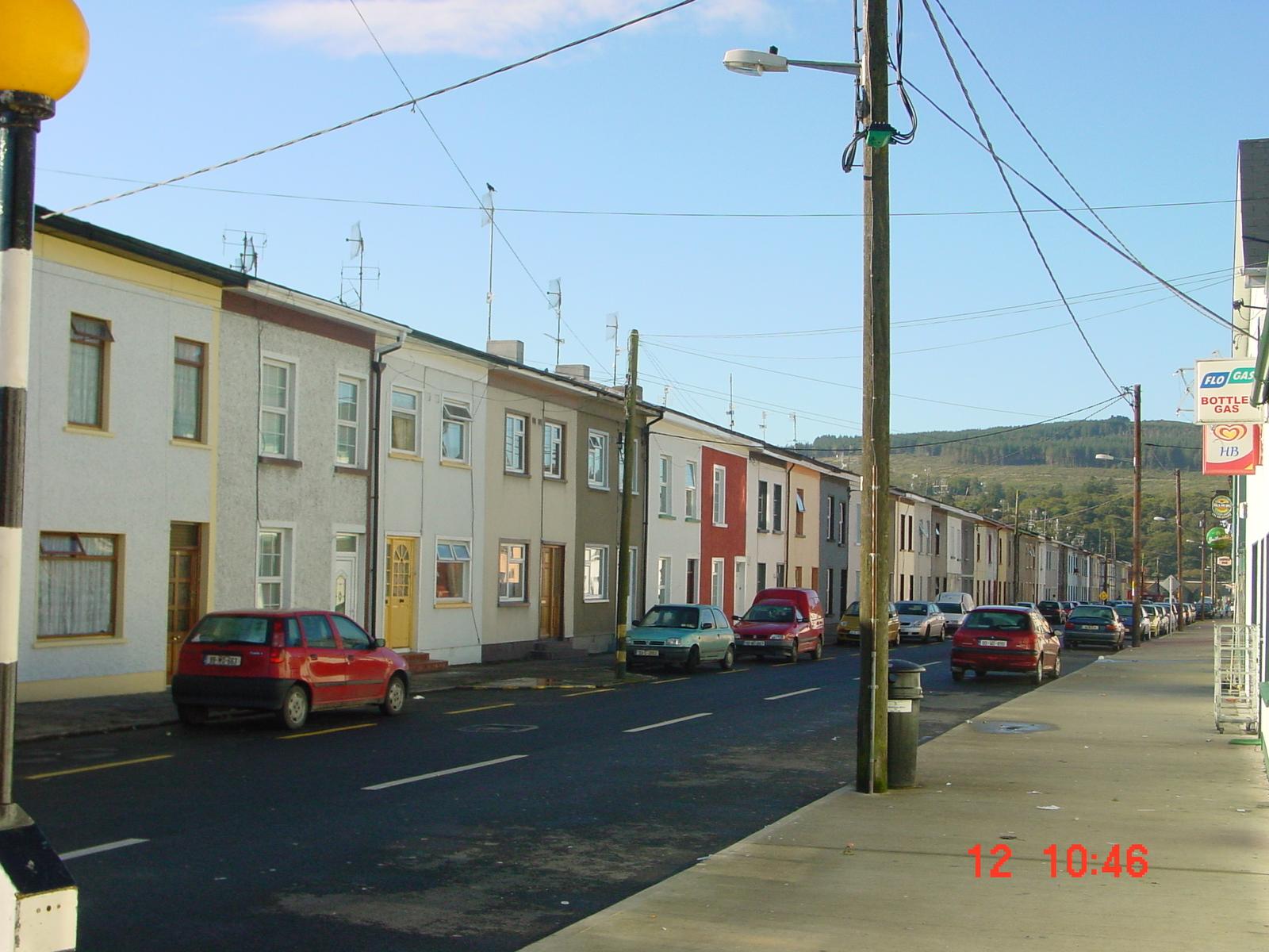 A street in Portlaw