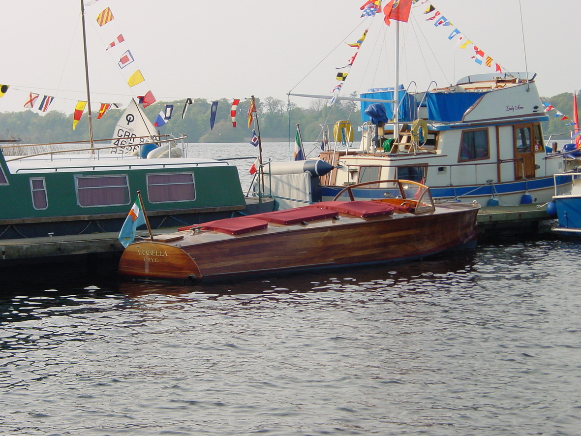 Arabella at Lough Derg Yacht Club