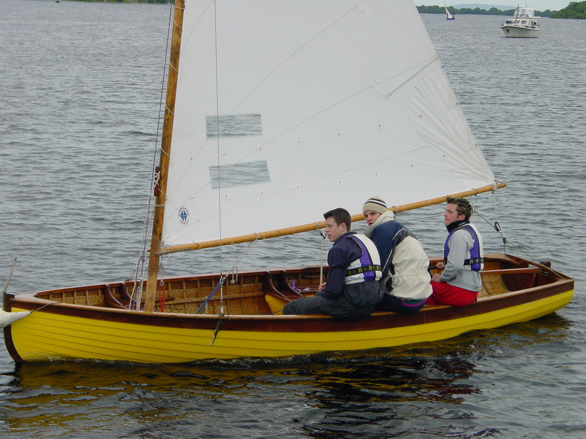 A Shannon One Design (SOD) on Lough Ree