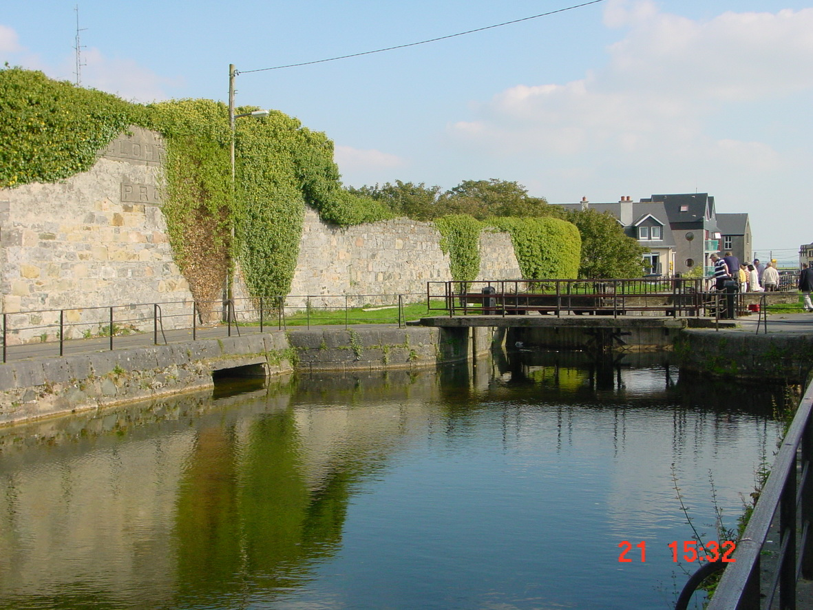 Above the lock