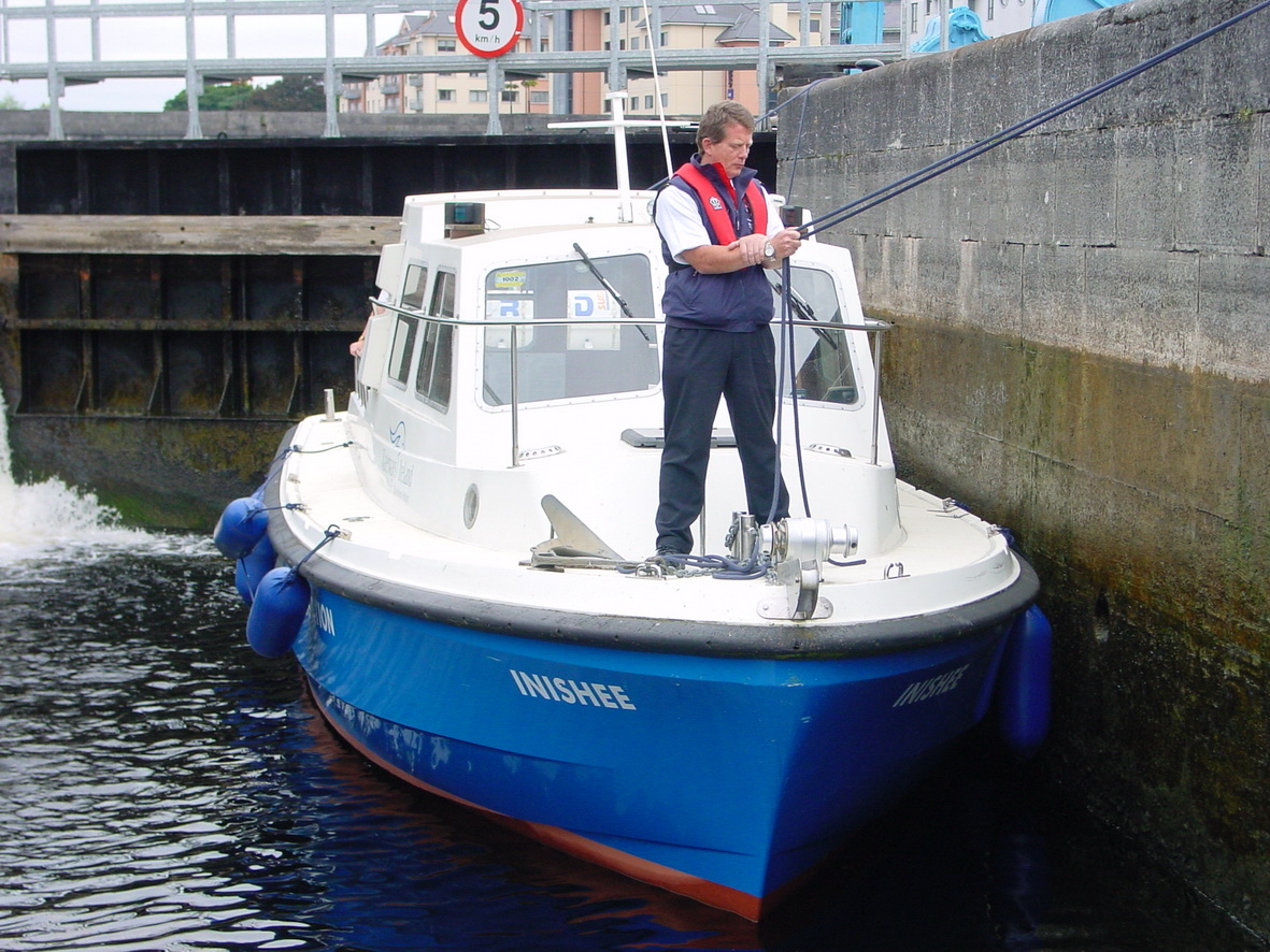 The Inspector's launch 3
