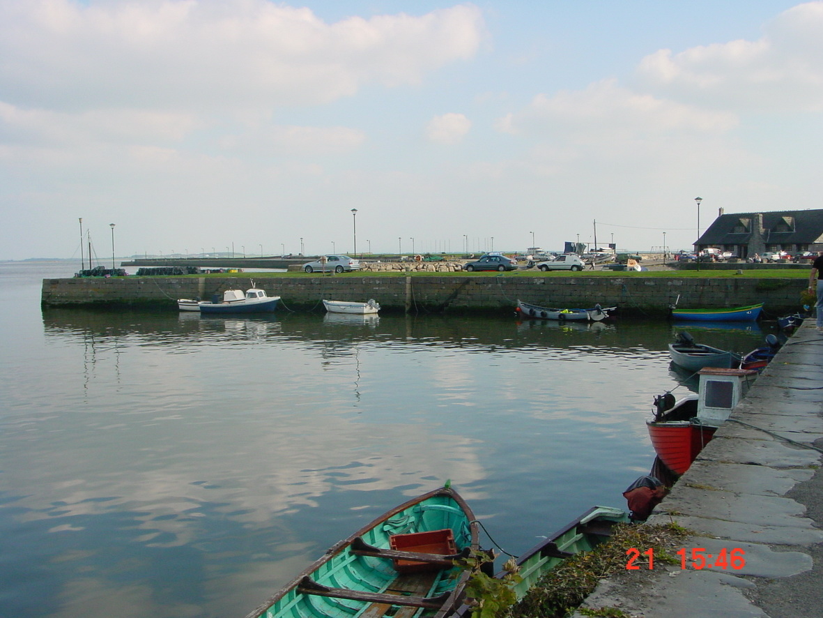 Boats at the Claddagh Quay