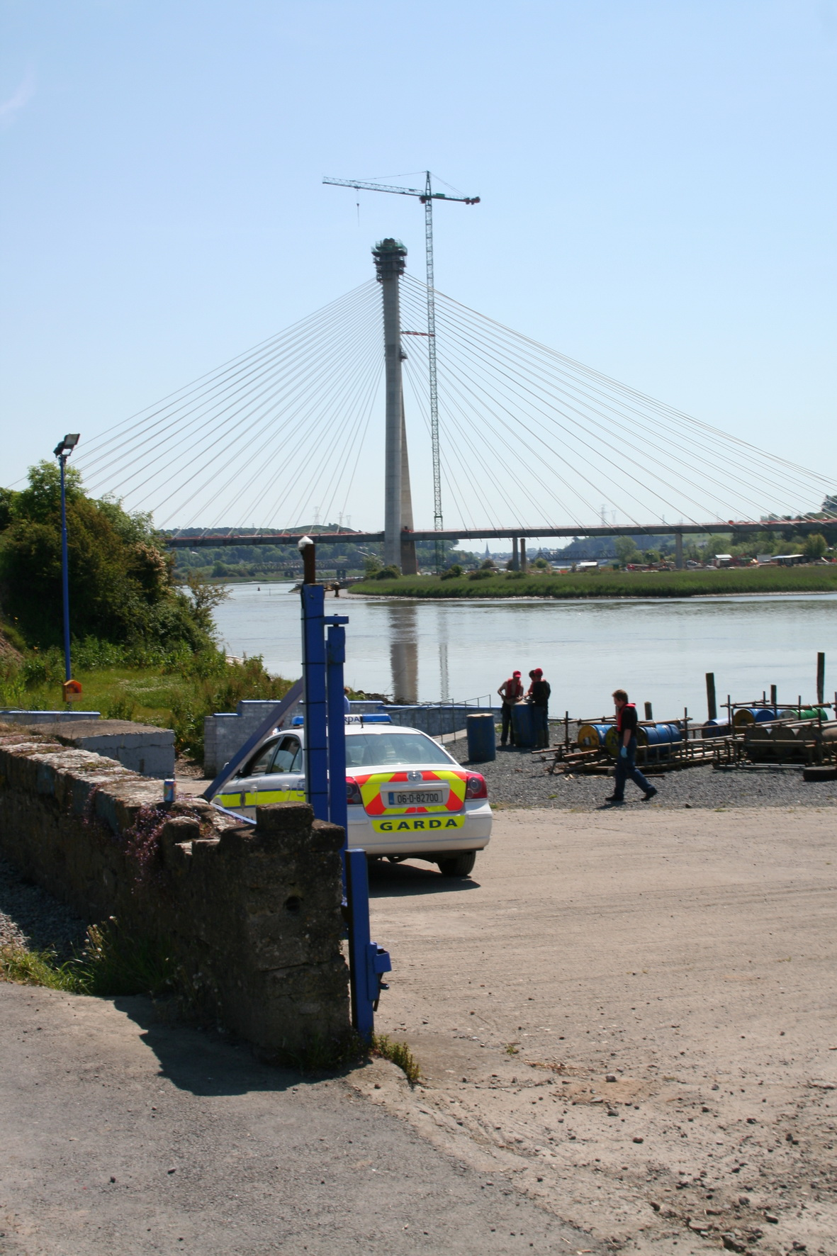 The new Waterford bridge