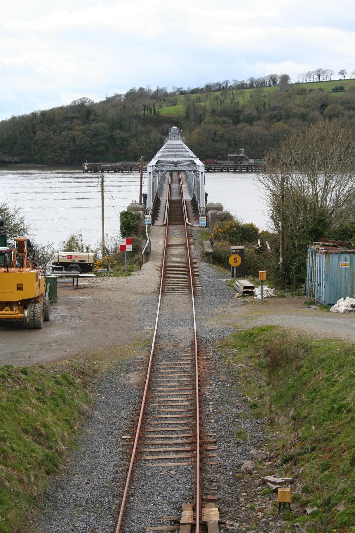 Looking across Barrow Bridge