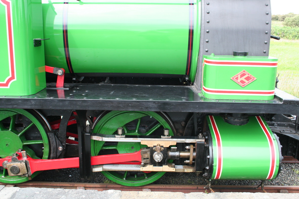 The front wheels with attached gubbinses
