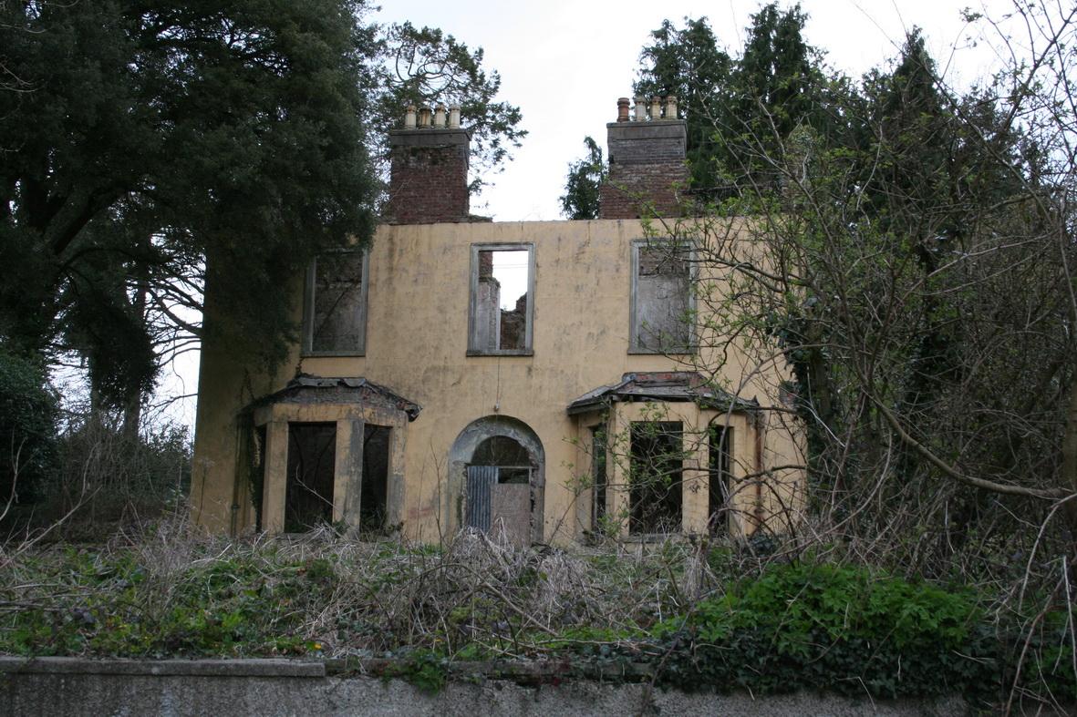 Abandoned house at St Mullins