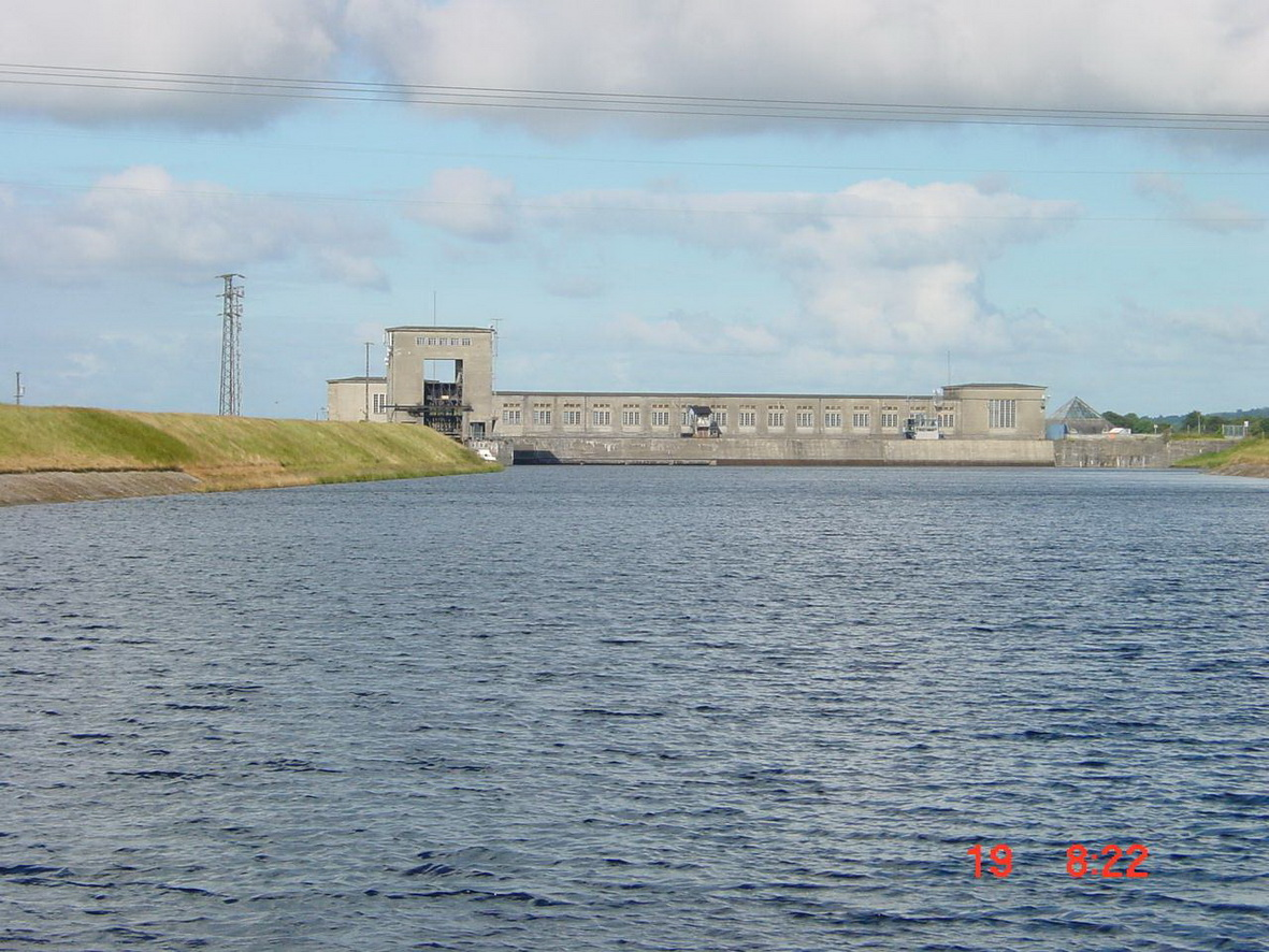 The power station from just past the bridge (2001)