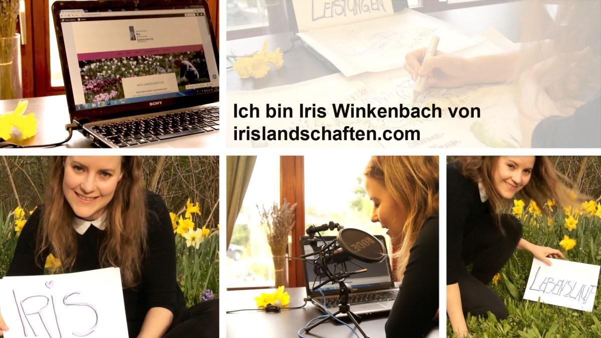 Ich bin Iris Winkenbach vom Blog irislandschaften.com